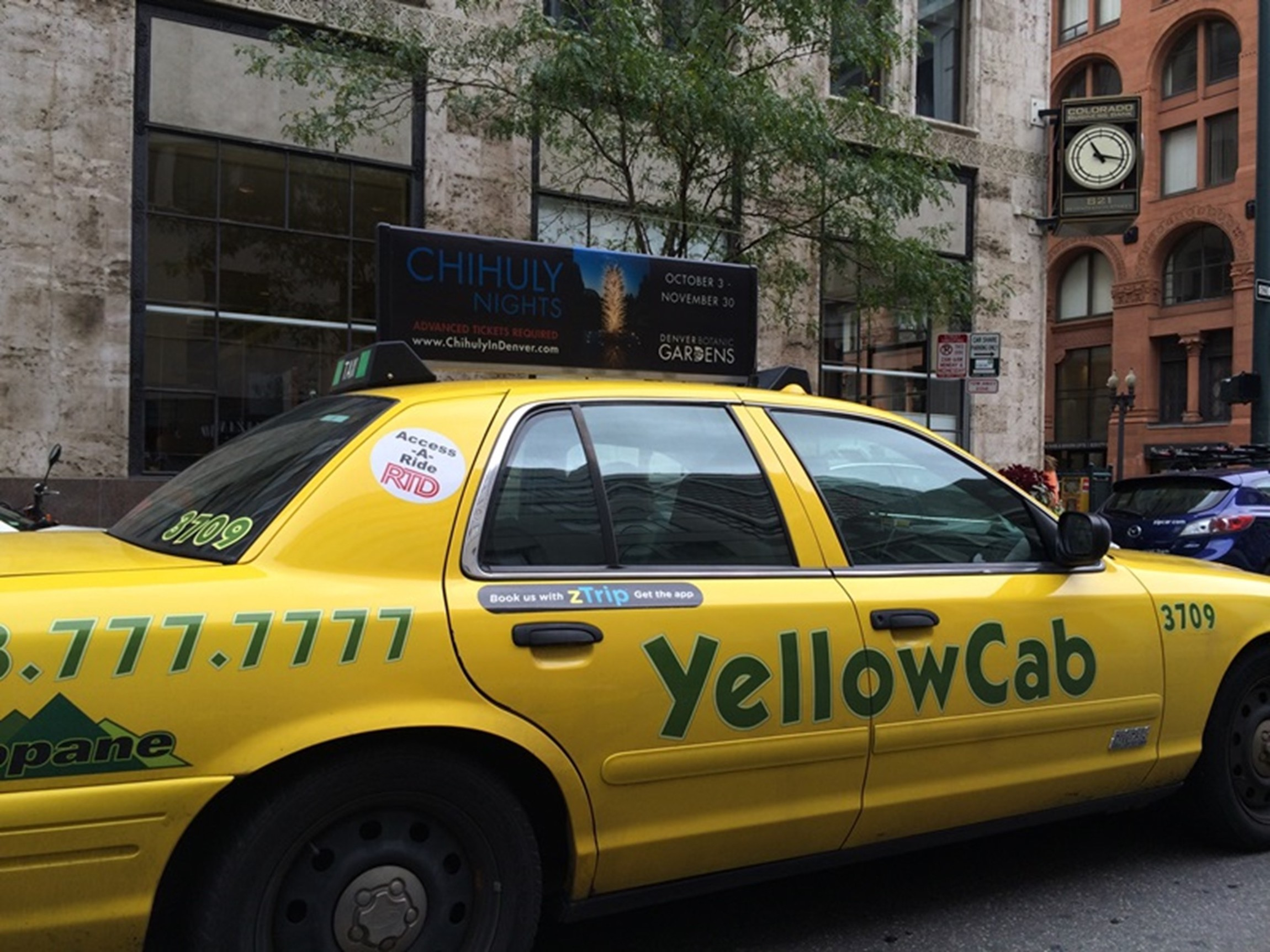 Yellow Cab Denver >> Taxi Advertising Billboards Out Of Home Outdoor Media